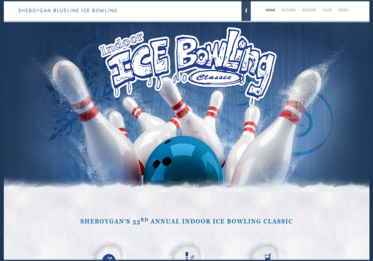 Sheboygan Blueline Ice Bowling website