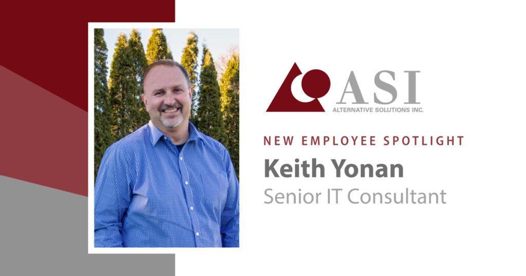 Keith New Employee Spotlight