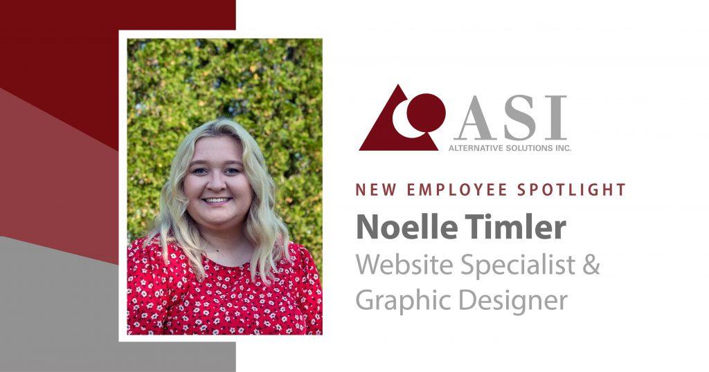 Noelle New Employee Spotlight